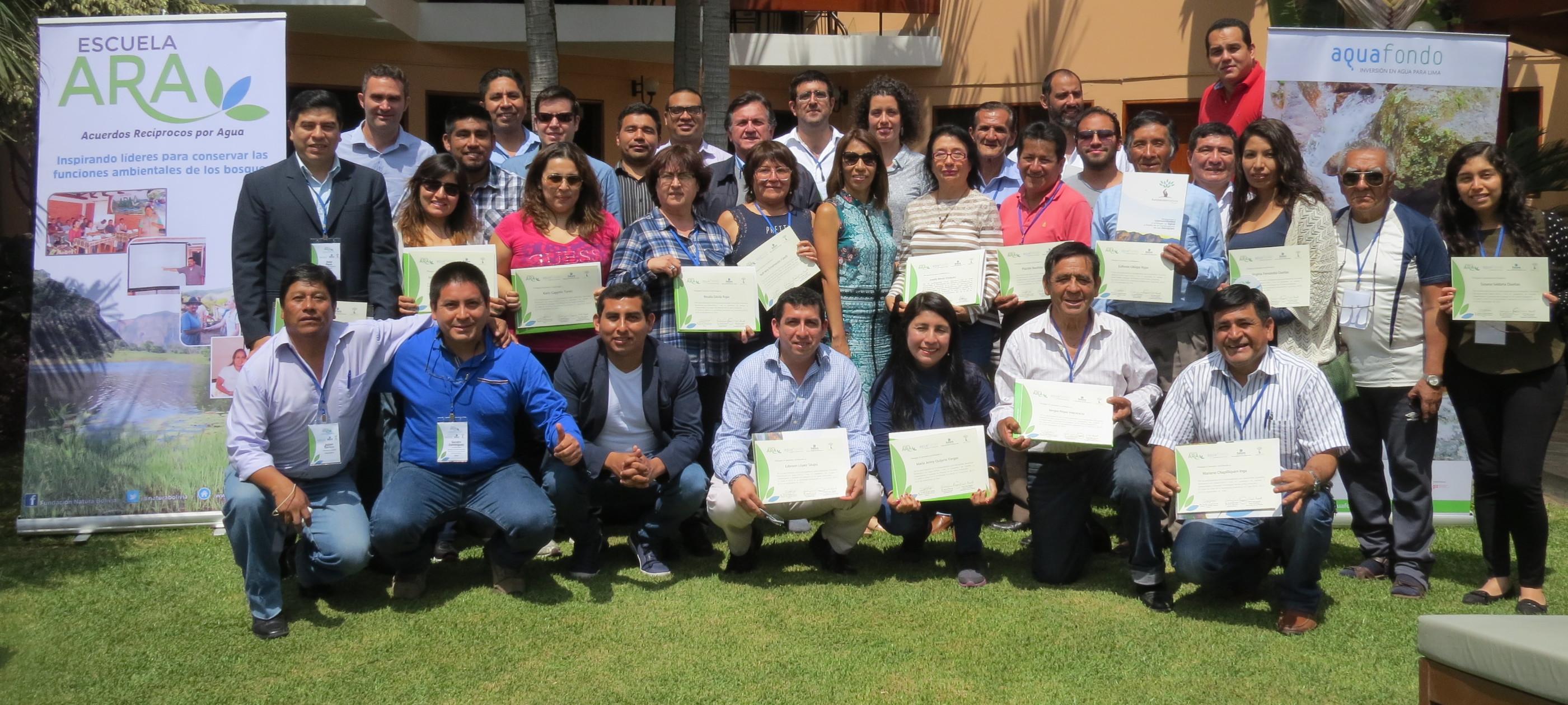 Fundación Futuro Latinoamericano (FFLA) y Natura de Bolivia imparten capacitación internacional a instituciones peruanas