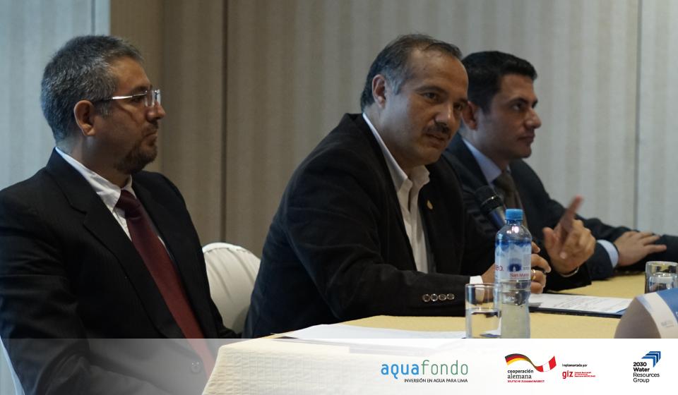 AQUAFONDO presenta estudio de riesgos hídricos y vulnerabilidad del sector privado en Lima Metropolitana y Callao en un contexto de Cambio Climático