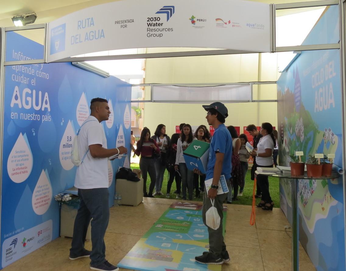 Aquafondo presenta la ruta del agua en ExpoGestión Sostenible 2016