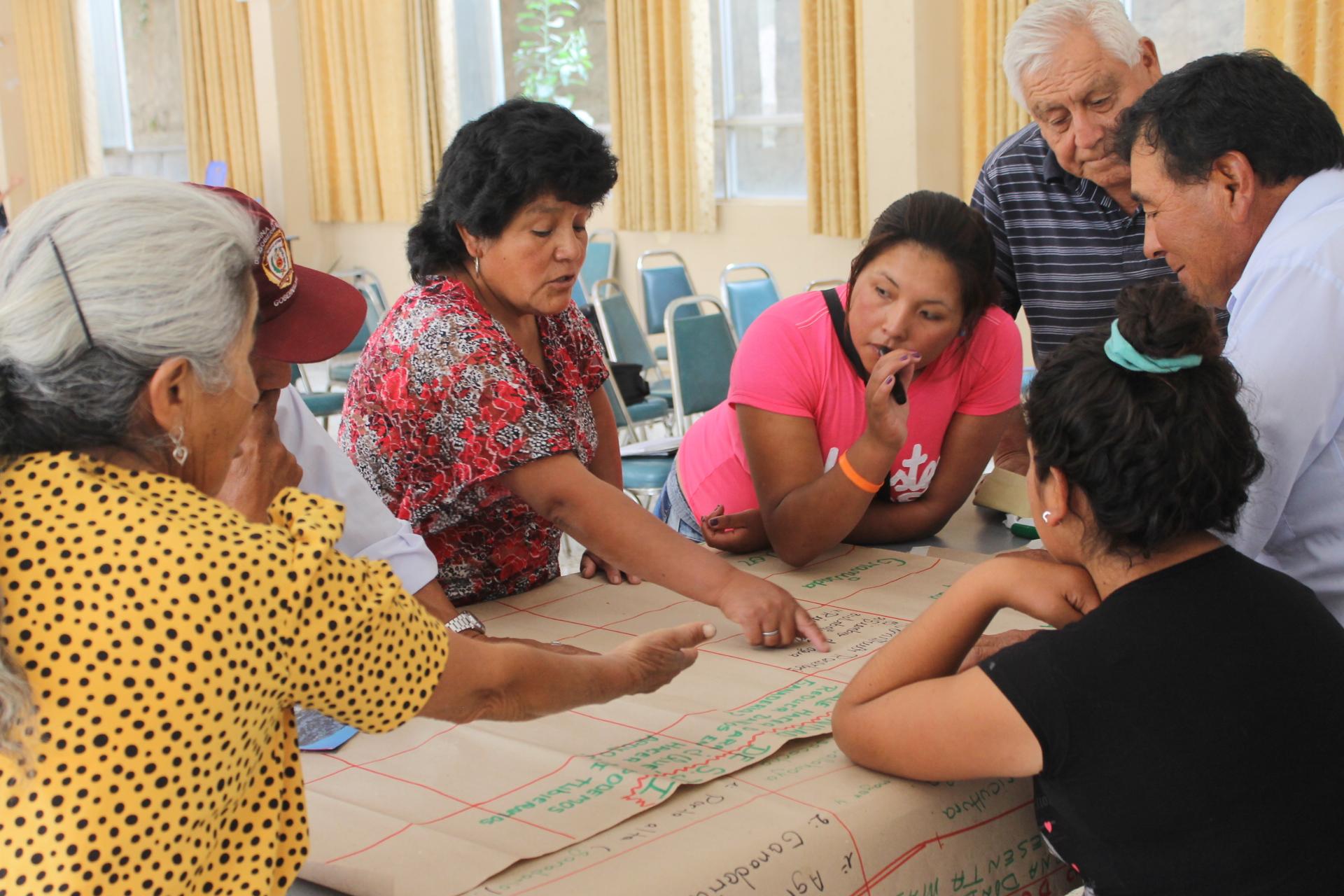 Aquafondo promueve la articulación de Instituciones para la elaboración de Planes Locales de Adaptación al Cambio Climático