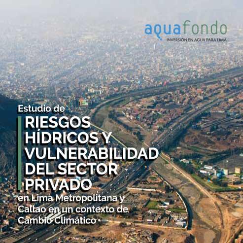 Estudio de riesgos hídricos y vulnerabilidad del sector privado en Lima Metropolitana y Callao en un contexto de Cambio Climático