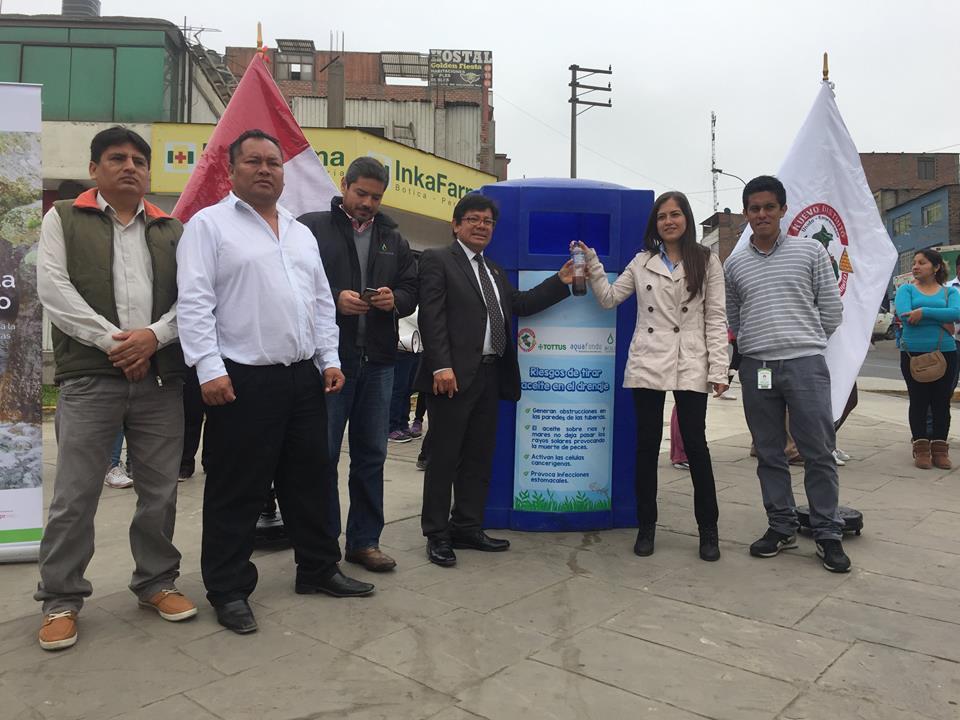 Distrito de mi perú impulsa iniciativa de reciclado de aceite de ...