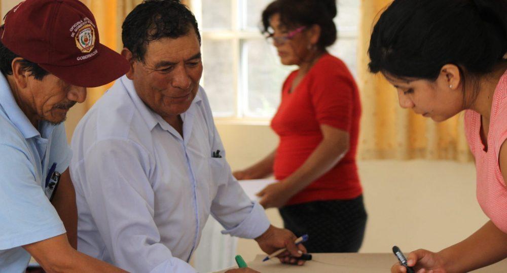 Planes de Adaptación en las Comunidades de la cuenca alta de Lima para hacer frente al Cambio Climático