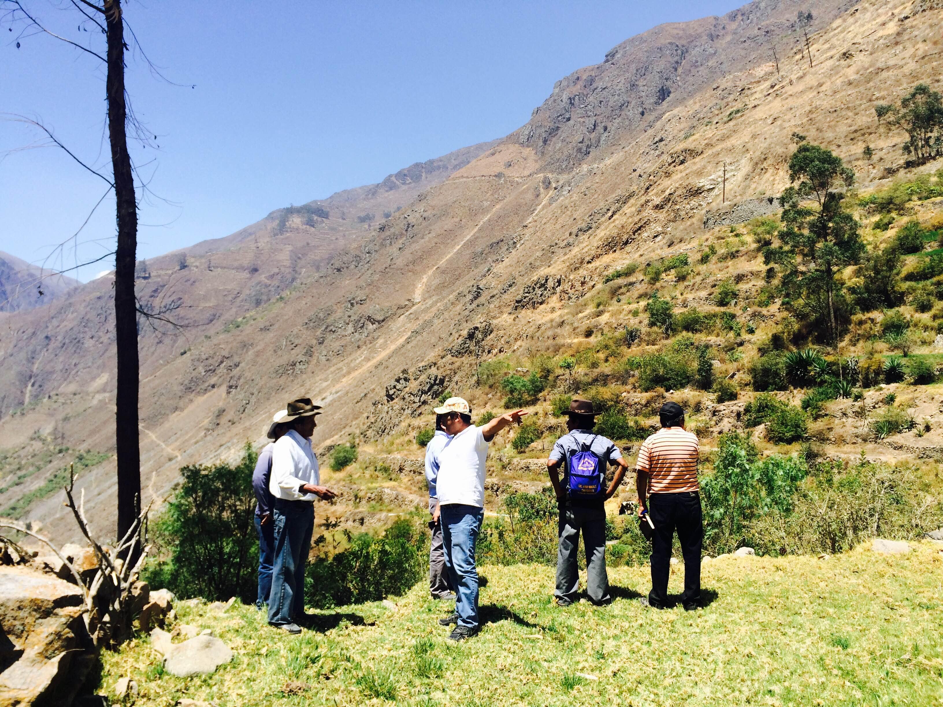 Enfrentando los efectos del Cambio Climático con sistemas de riego en San Pedro de Casta
