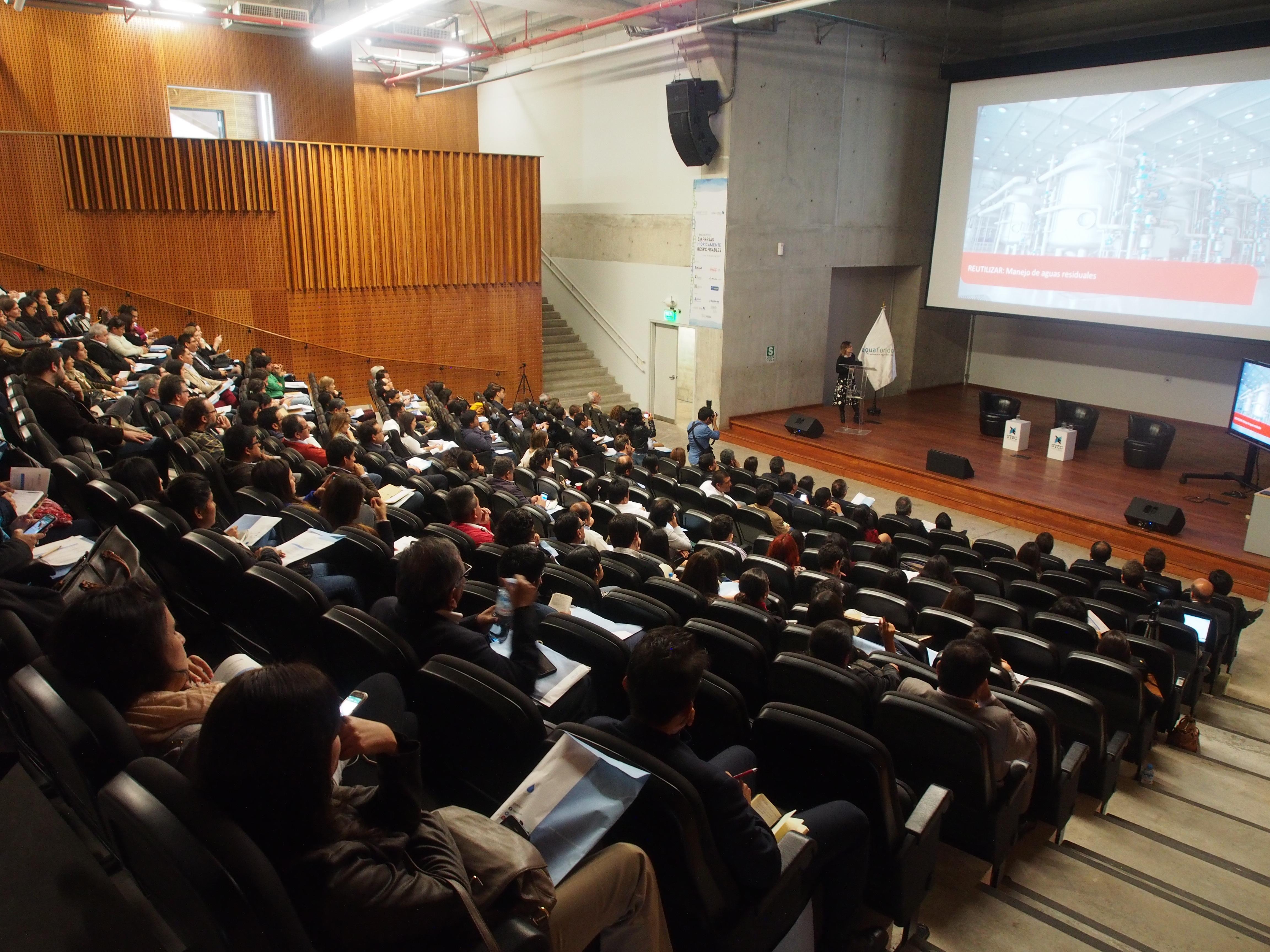 Primer Encuentro de Empresas Hídricamente Responsables: casos exitosos y replicables de gestión eficiente del agua