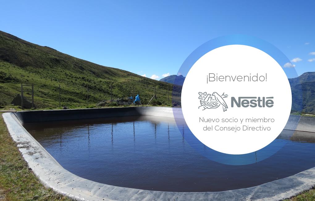 Nestlé se suma a Aquafondo en pro de la conservación y protección de los recursos hídricos