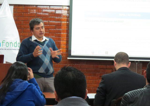 Aldo Cárdenas, Coordinador de Fondos de Agua en The Nature Conservancy