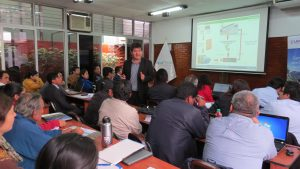 Walter Santa Cruz, Especialista de la Oficina General de Planeamiento y Presupuesto del Ministerio del Ambiente