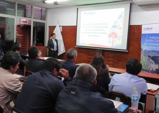 Arturo Lazaro, especialista en Recursos Hidricos de SUNASS