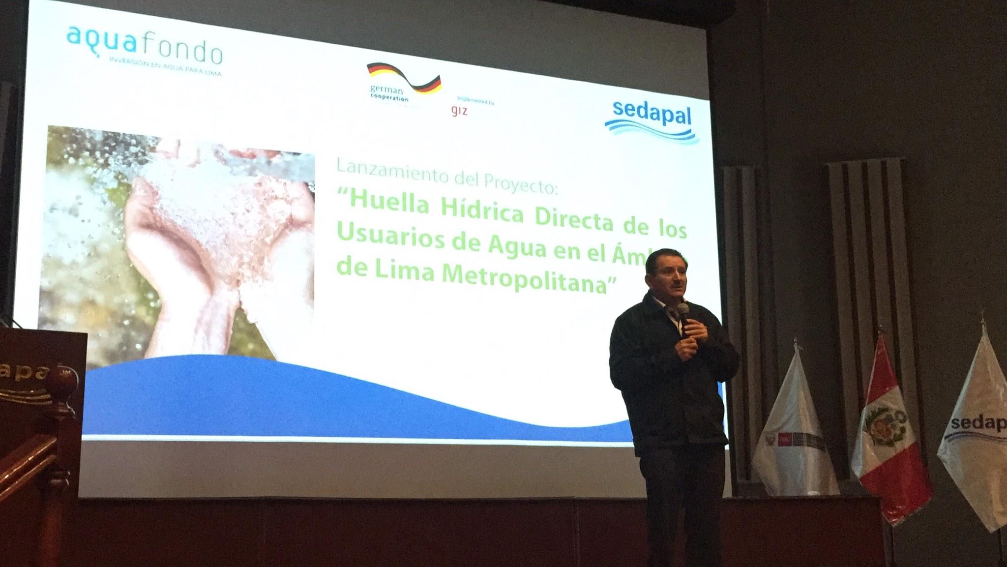 Lima y Callao contarán con indicadores de consumo de agua a través de la Huella Hídrica