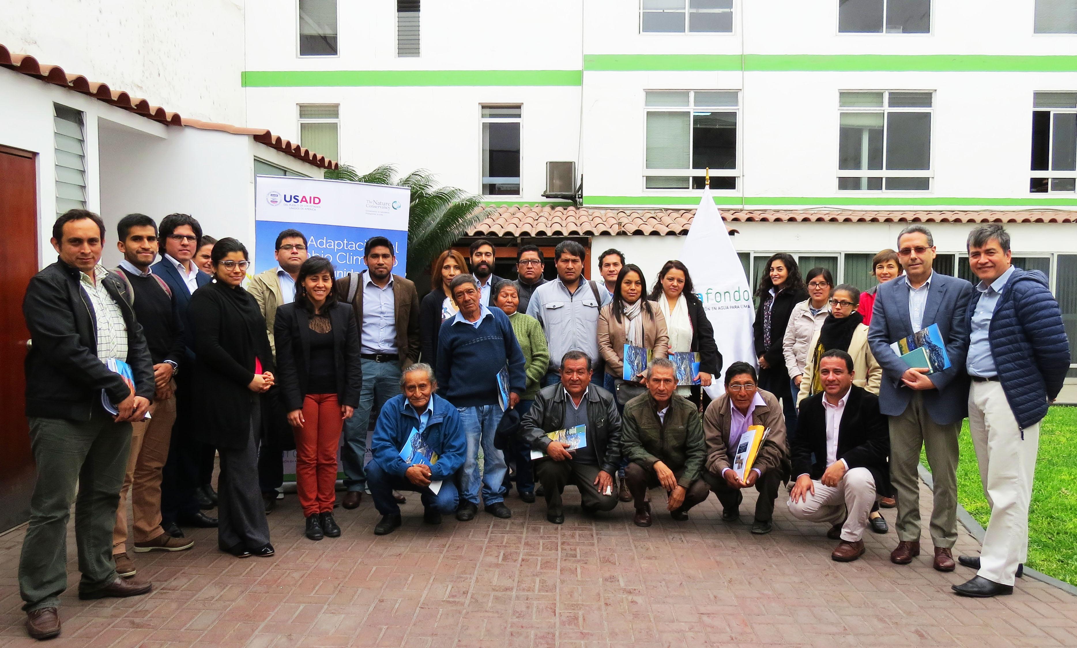 Presentación Planes de Acción Local ante el Cambio Climático para las Comunidades de las Cuencas de Lima
