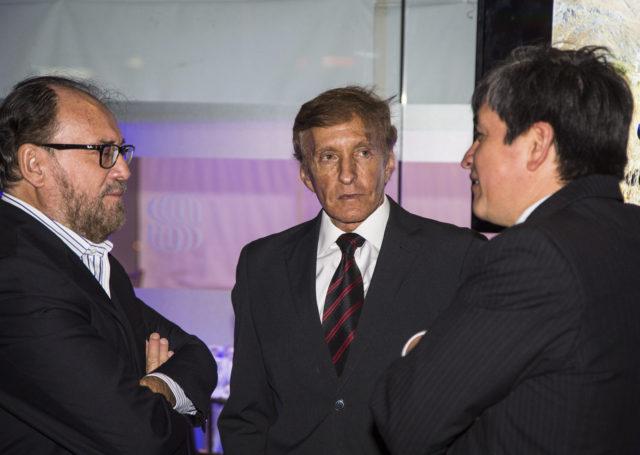 Alberto Paniagua, Presidente de Profonampe junto a Juan Gil, Presidente del Consejo Directivo de AQUAFONDO y Aldo Cárdenas, representante de TNC.