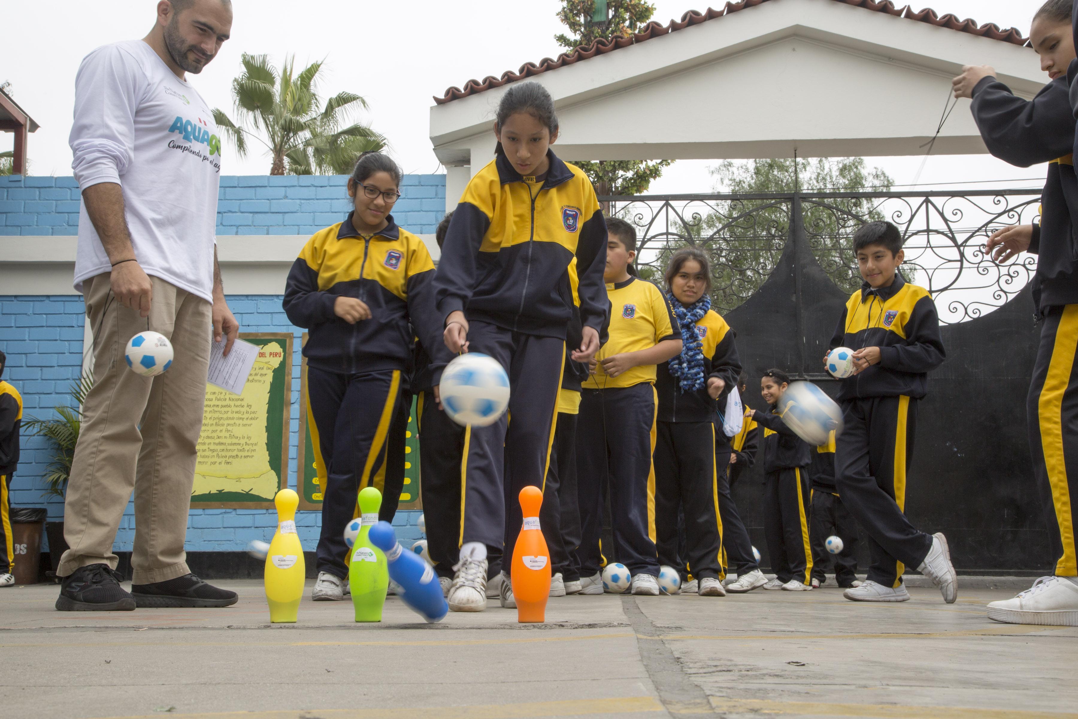 """Lanzamiento Campaña Educativa AQUAGOL """"Compitiendo por el agua"""""""